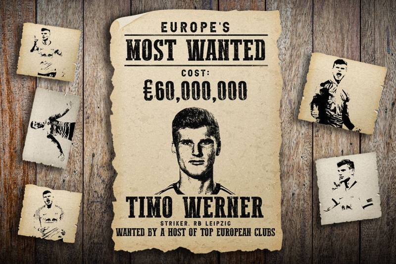 Catch Him If You Can: How Timo Werner Became Germany's Most Wanted Player