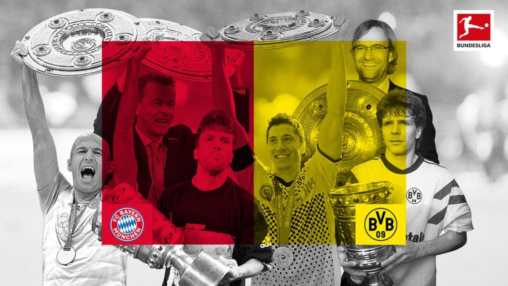 Why is the match between Bayern Munich and Borussia Dortmund so important?