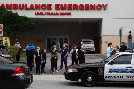 Multiple Florida Hospitals Run Out of ICU Beds as Coronavirus Cases Spike