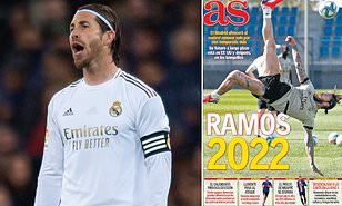 Sergio Ramos 'to be offered new one-year Real Madrid deal until 2022'