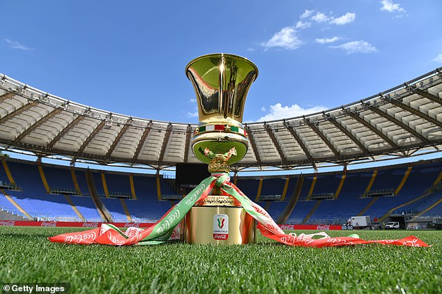 Coppa Italia winners Juventus or Napoli will take part in a self-service medal ceremony