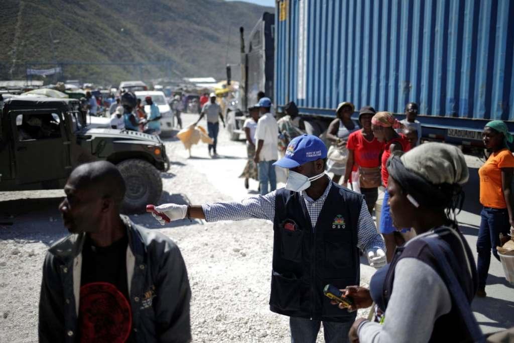 Coronavirus Outbreaks at Border Put Haitian Migrants at Risk