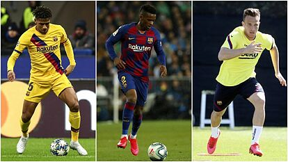 Barcelona's eight frantic days: Two player sales on the horizon