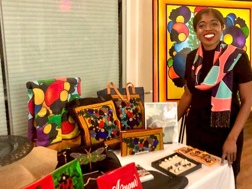 New York Fashion Designer, Dayanne Danier, maintains Haiti links