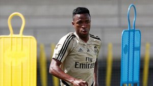 PSG counter attack Madrid with Vinicius Jr plan