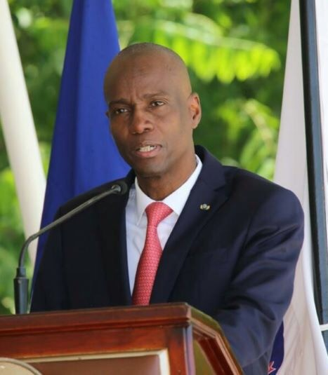 Insecurity is one of the biggest problems in Haiti, according to Moïse