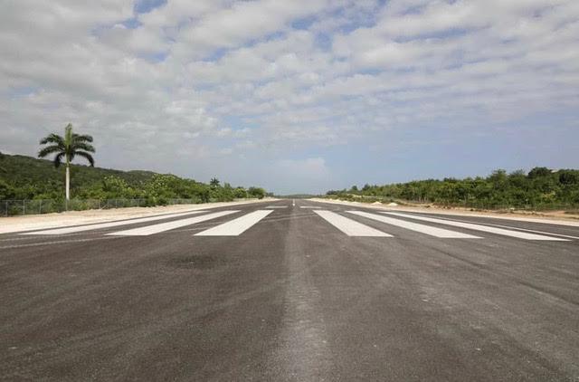 Haitian president Inaugurates Jeremie Airport