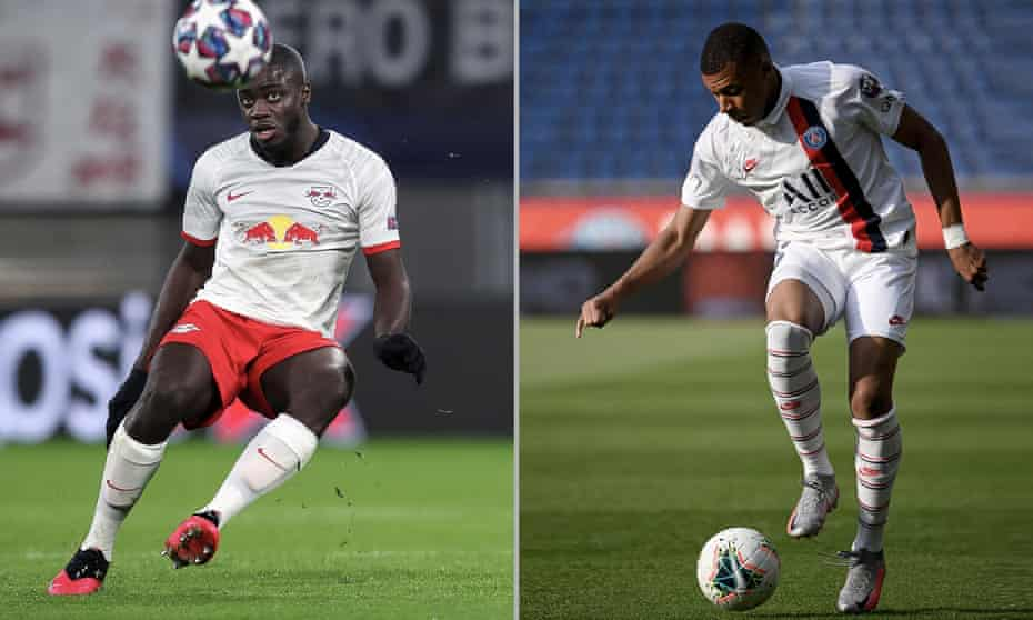 Dayot Upamecano stands in the way of PSG's potent attacking force