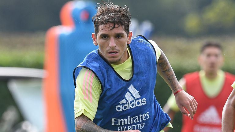 Lucas Torreira: Torino in talks with Arsenal over loan with view to permanent move
