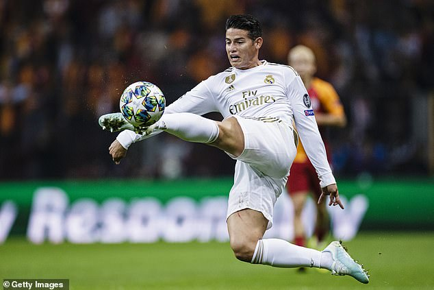 Everton set to finalise signing of James Rodriguez from Real Madrid