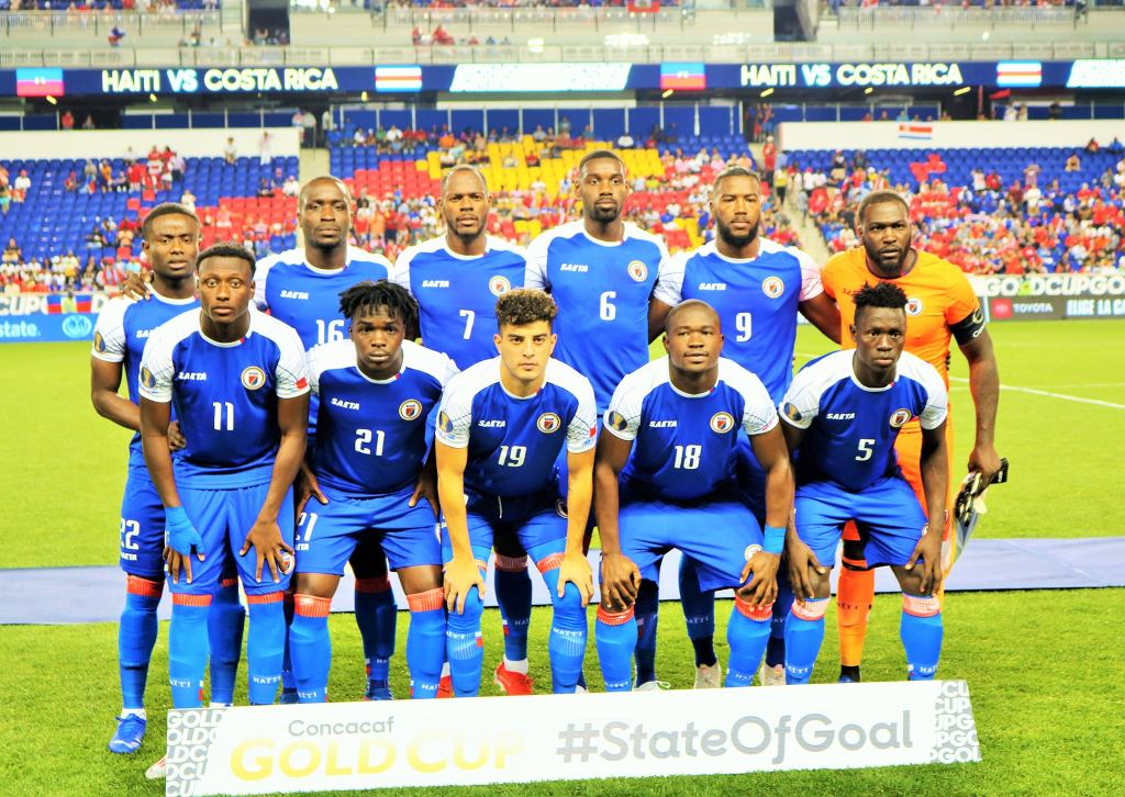 Haiti will face Saint Vincent first in Gold Cup last entry quest