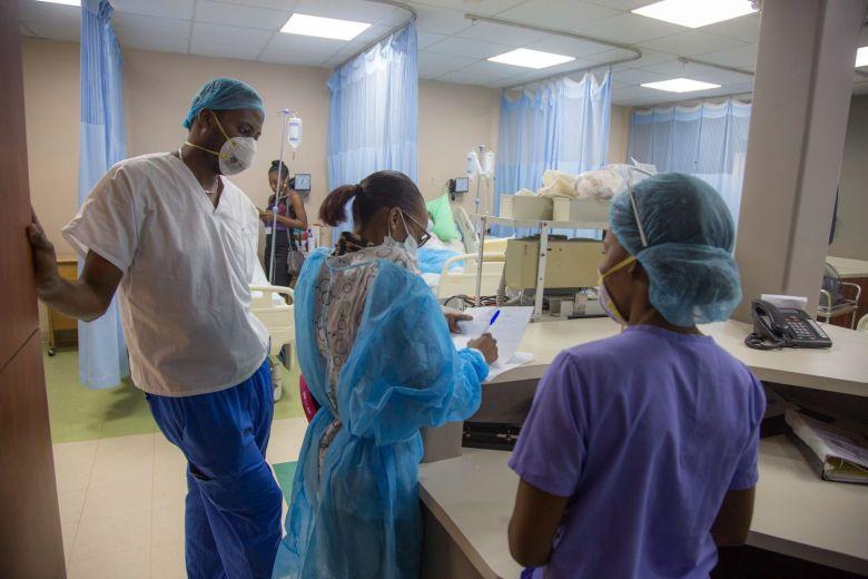 health care workers haiti
