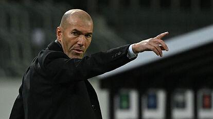 Zidane: If Real Madrid keep playing like this, I'm sure we'll qualify