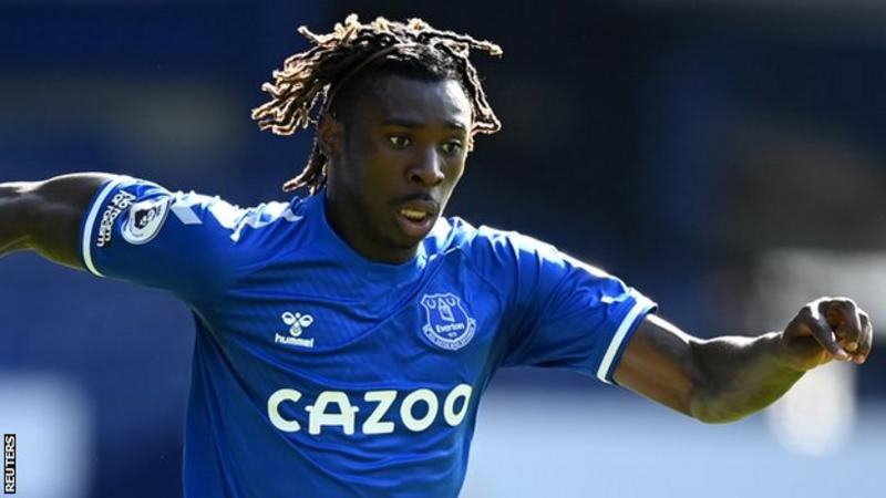 Everton striker Moise Kean set for PSG loan move