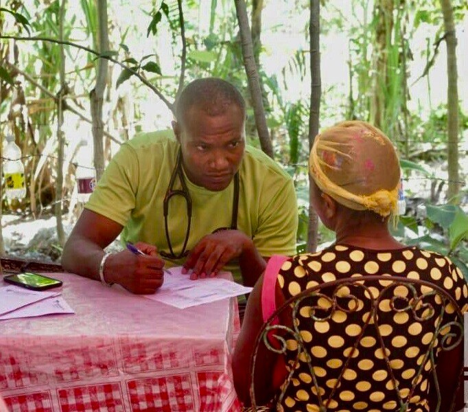 Haitian doctor Lamontay