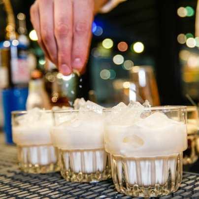 Haitian kremas drink