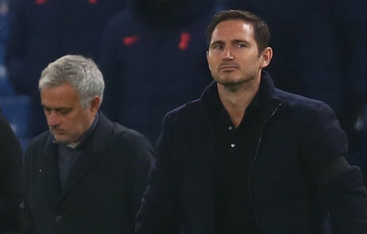 Frank Lampard and Jose Mourinho take Chelsea and Tottenham rivalry up a notch