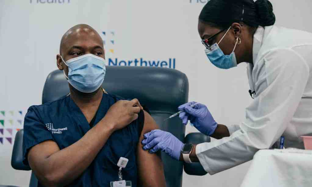 Haitian-American first doctor in US to receive COVID-19 vaccine