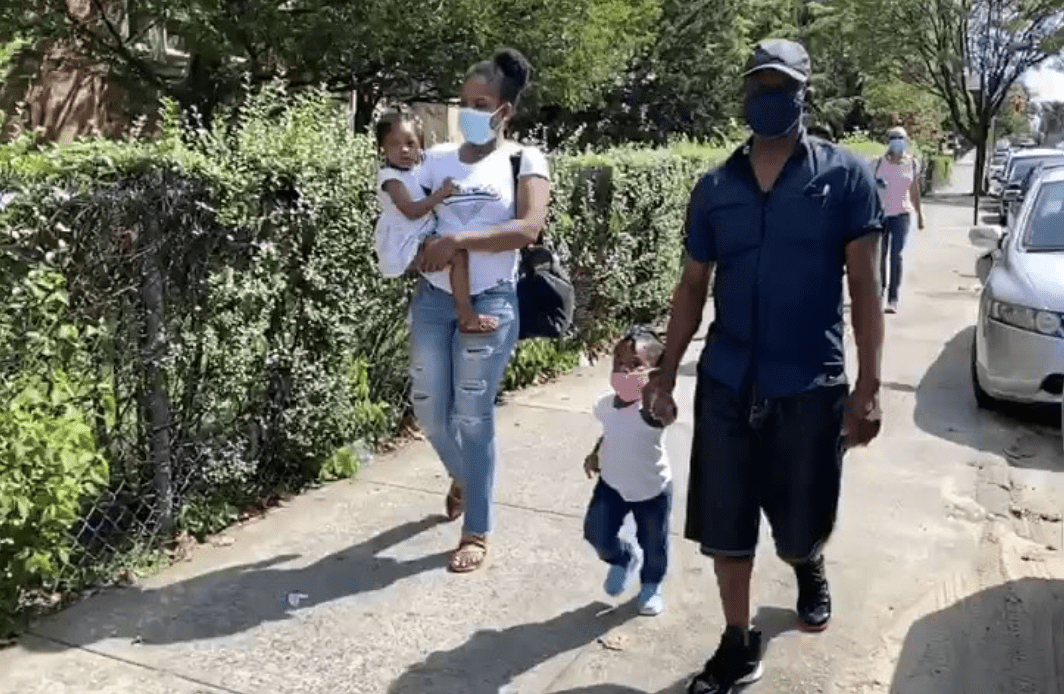 Haitian women and babies NYC