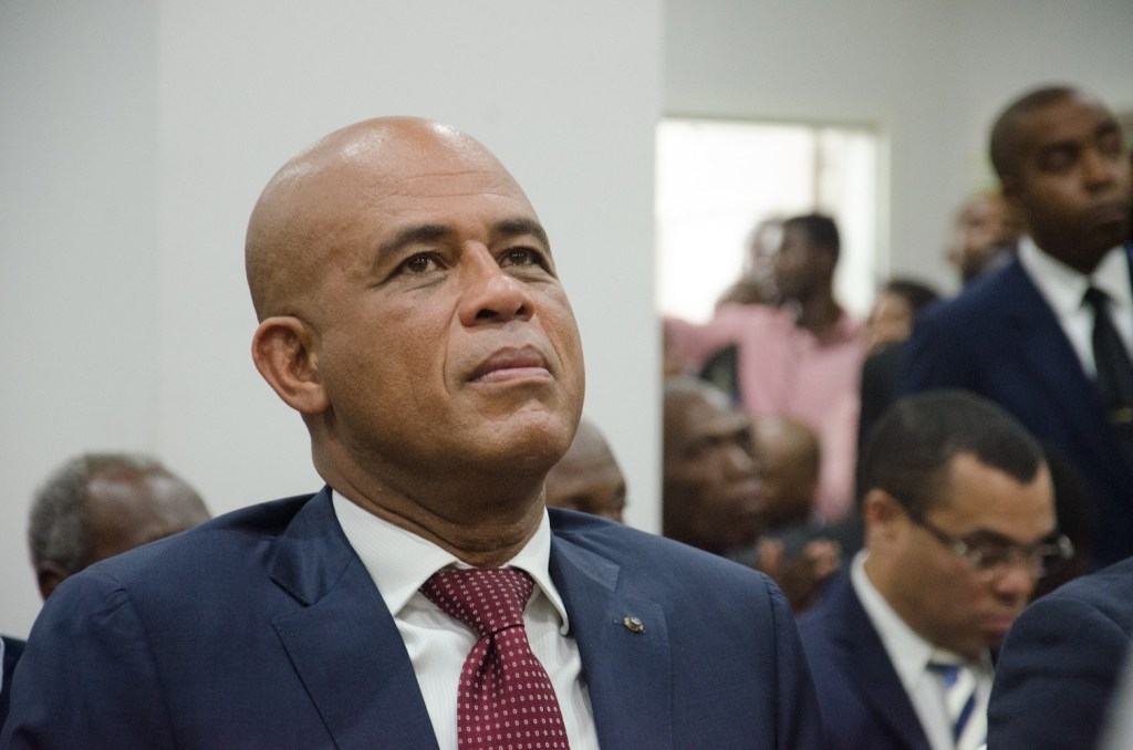 Michel Martelly tests positive for COVID-19