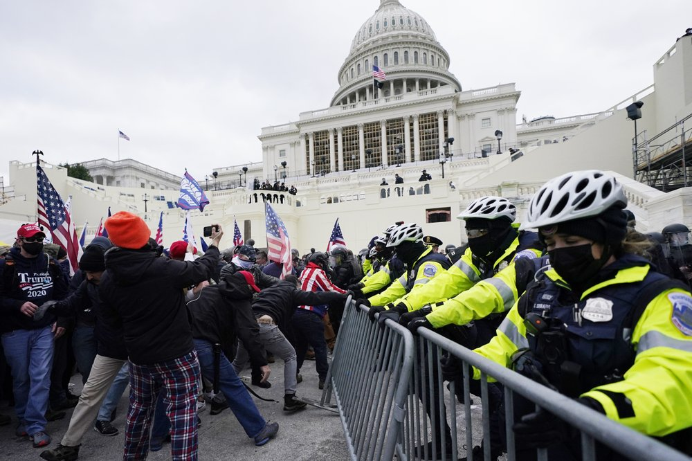 haitians react to capitol protest