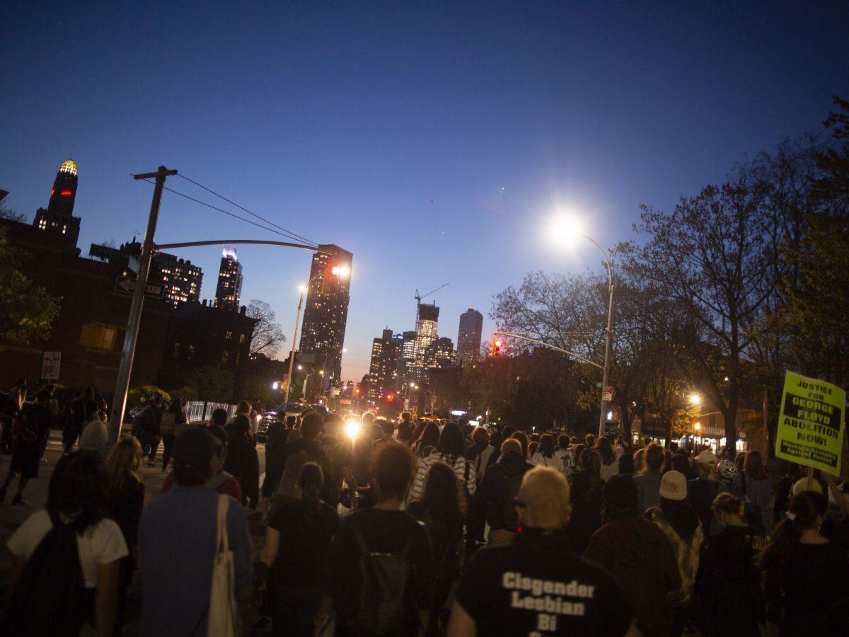 Derek chauvin verdict vigil Brooklyn