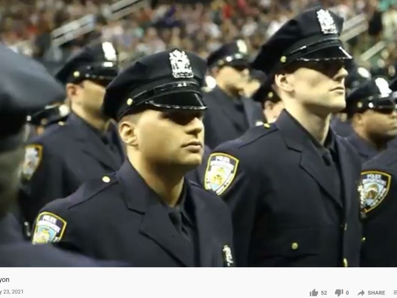 nypd officers graduation