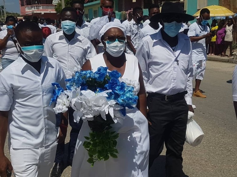 Mourners welcome Moïse body back to hometown, pay respects. Haiti