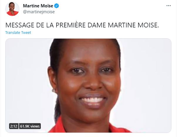 martine moise haitian first lady