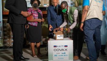 haiti vaccine