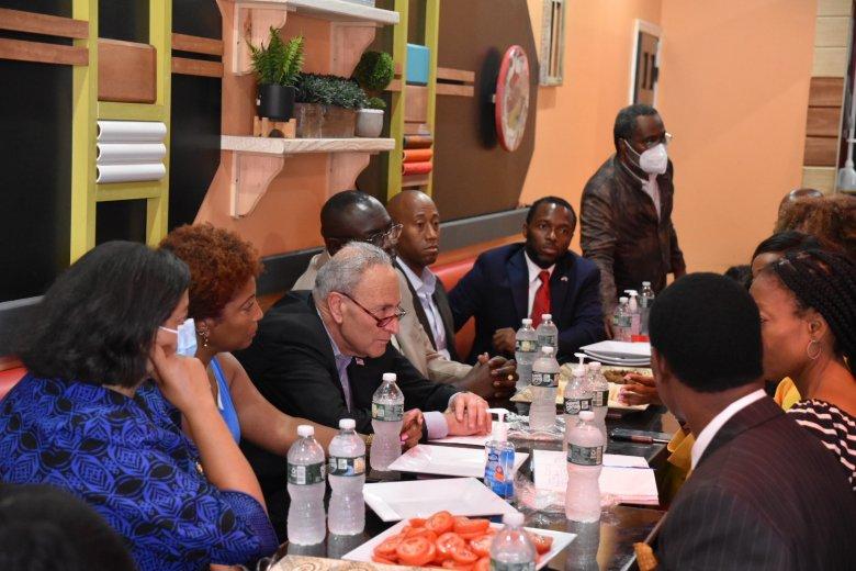 Chuck Schumer haitian leaders