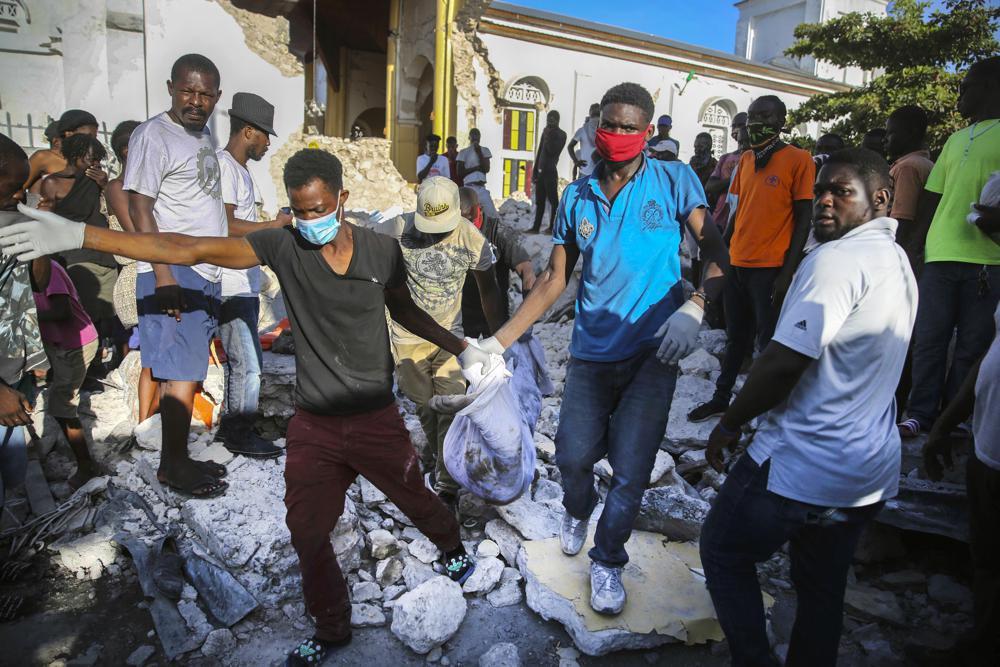 haiti rescue earthquake