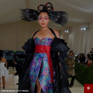 Naomi Osaka's Met Gala Look Was Inspired by Haiti and Japan