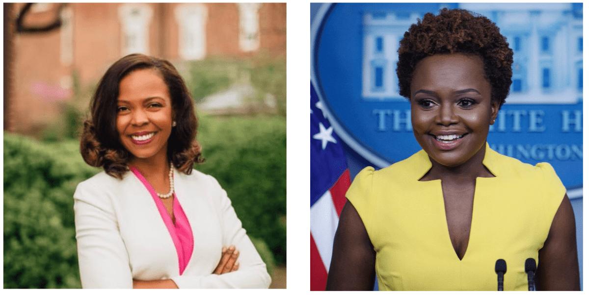 Karen Andre and Karine Jean-Pierre, Biden White House staffers, US-Haiti policy advisors
