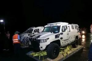 Haïti - Insécurité : Des véhicules blindés arrivés à Port-au- Prince 2