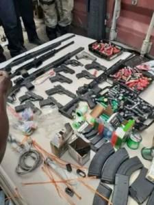 Haïti : Saisie d'armes et de munitions au Cap-Haïtien par des agents douaniers 2