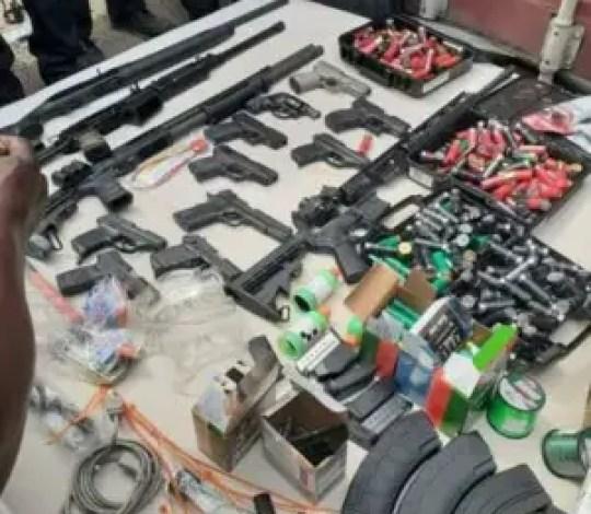 Haïti : Saisie d'armes et de munitions au Cap-Haïtien par des agents douaniers 1