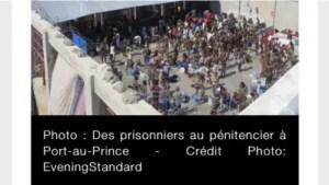Haïti:75 % de la population carcérale sont en détention préventive 1