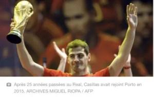 International /Foot : Iker Casillas prend sa retraite sportive et brigue la présidence de la fédération espagnole 2