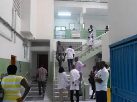 Coronavirus: Les médecins de l'HUEH n'ont pas déserté, mais retranchés dans un bâtiment 1