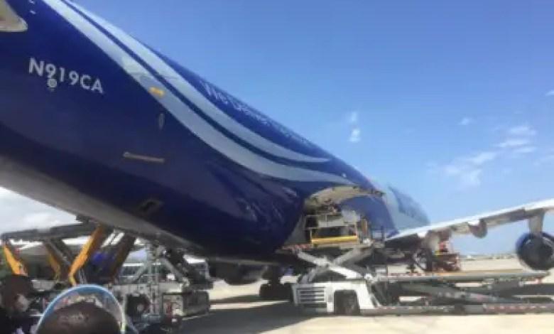 Un deuxième stock de matériels médicaux arrive à Port-au-Prince 1