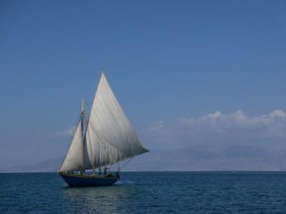 Haitian sailboat
