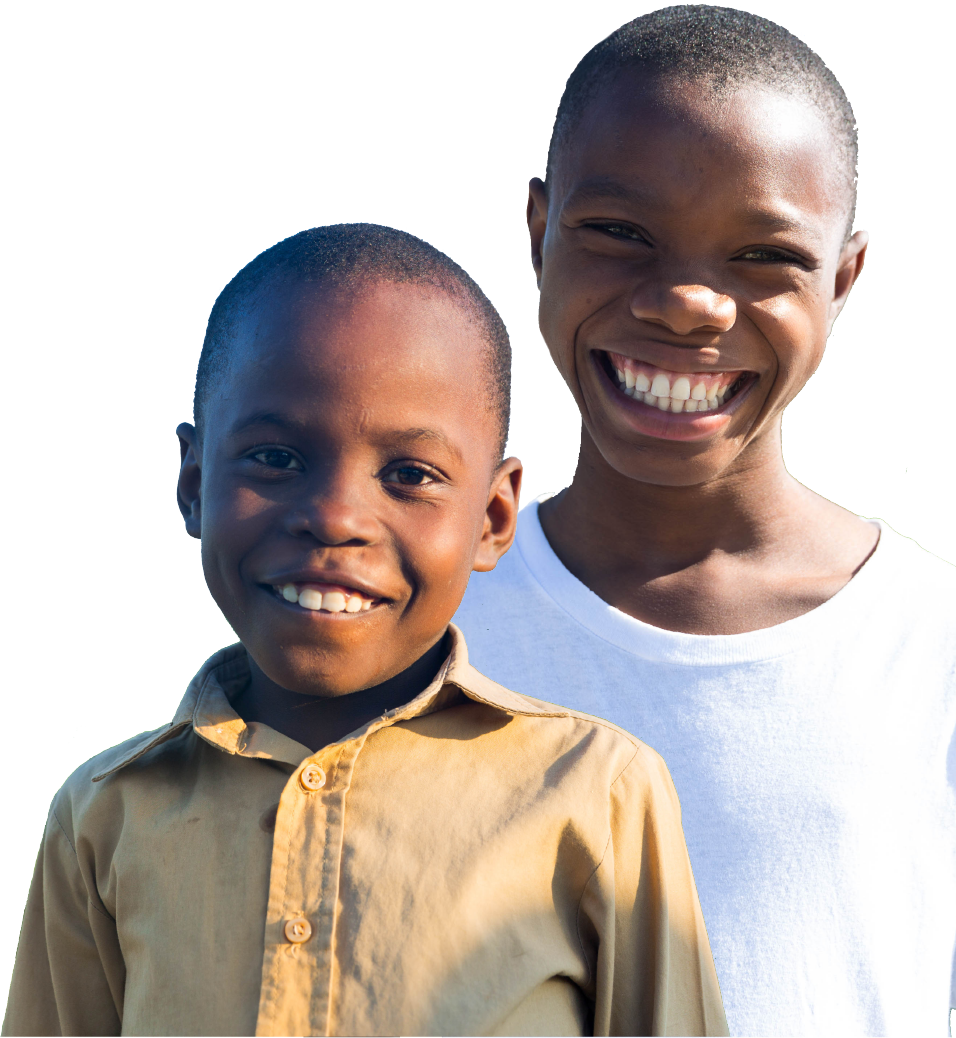 Haiti Orphan Foundation Boys Cutout