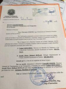 Justice : 2 hauts dignitaires de l'État frappés d'interdiction de départ 2