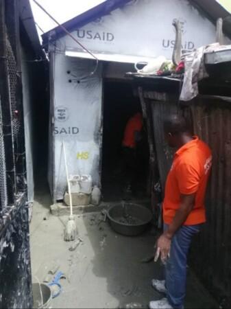 Intempéries : 27 familles sinistrées à Port-au-Prince après les pluies torrentielles du 9 août 2019