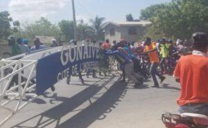 Gonaïves (Artibonite) : fermeture des écoles et bureaux de l'État par des manifestants 1