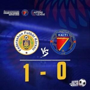 Ligue des Nations de la CONCACAF : Haïti chute face au Curaçao 0-1 1
