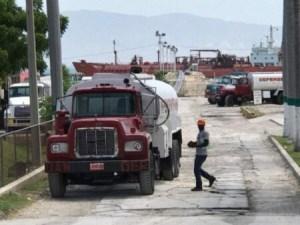 Difficultés des camionneurs haïtiens à livrer le carburant 1