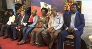 Installation des membres de la commission de facilitation et de passation de pouvoir... 1