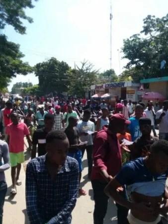 Ouanaminthe (Nord'Est) : une manifestation de l'opposition dispersée par des partisans du pouvoir